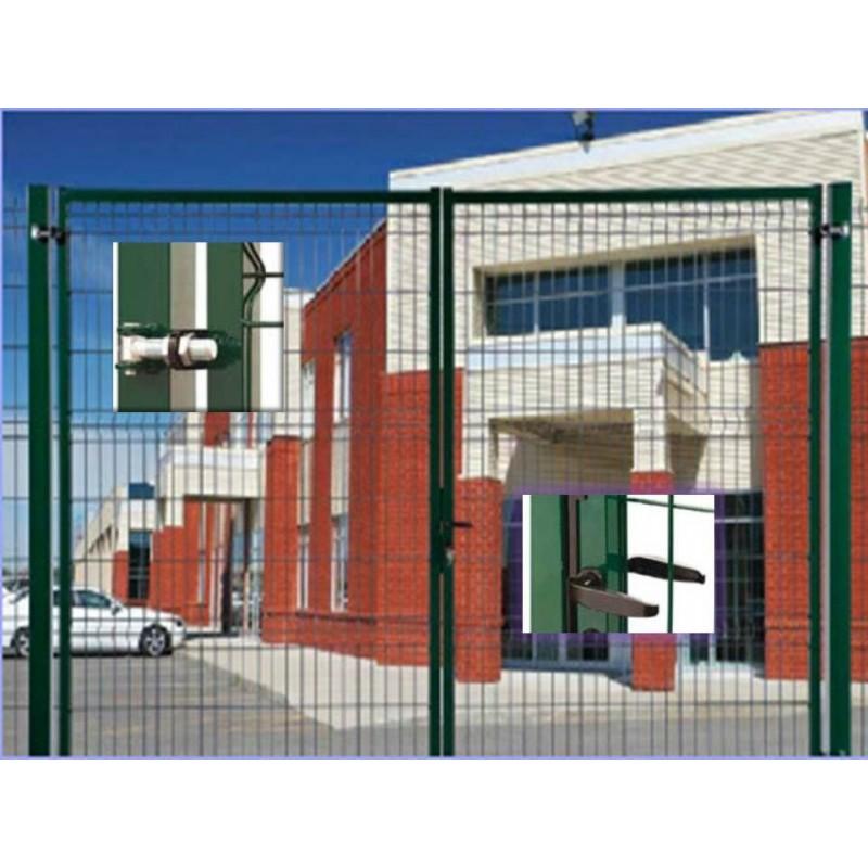 Portail grillagé SECUREO PRO L4,00 m H2,00 m