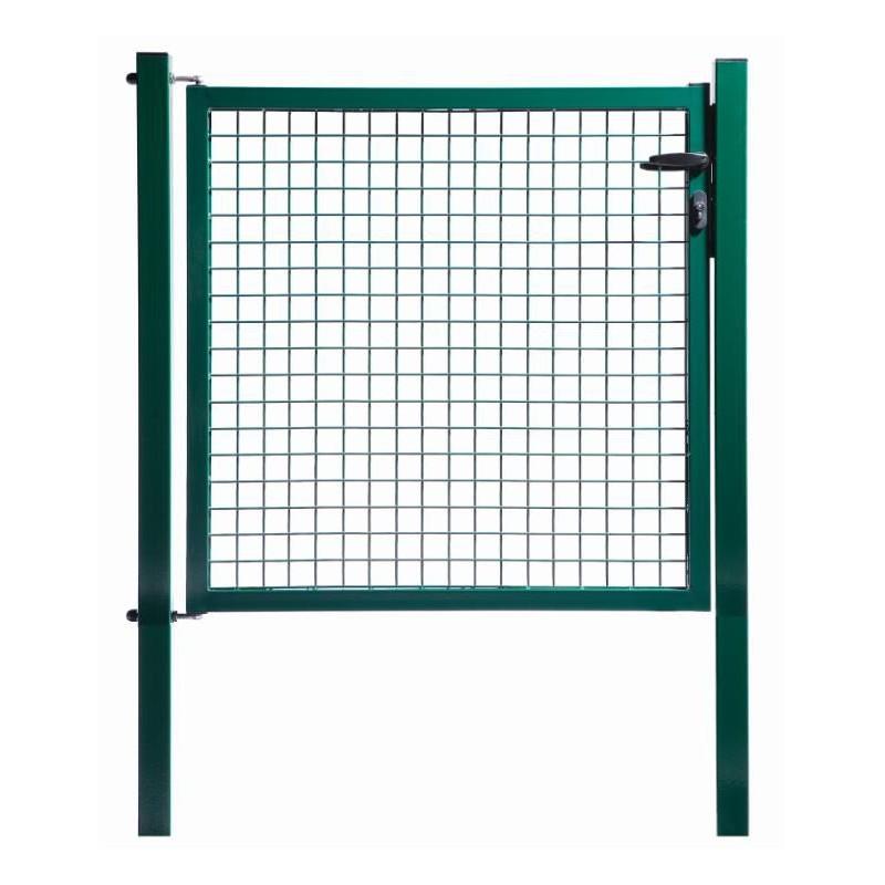 Portillon grillagé vert PROTECT L 1,00 m x Ht 2,00 m