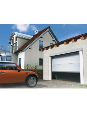 Porte sectionnelle de garage Alpha H 240 x L 200 cm