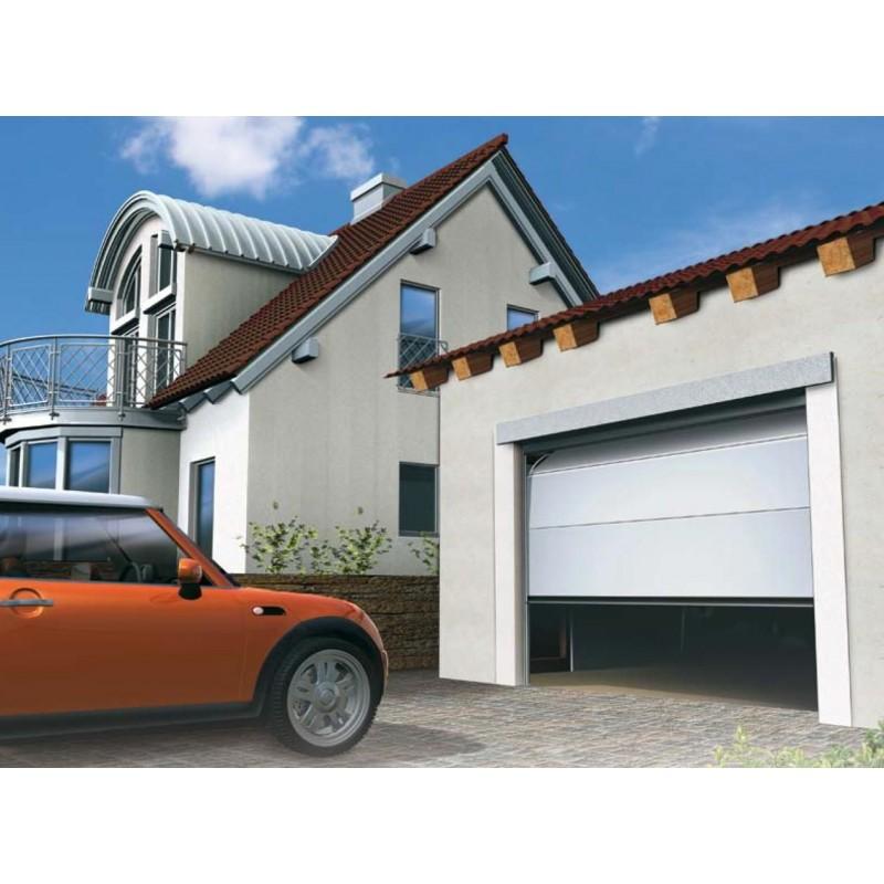 Porte sectionnelle de garage Alpha H 240 x L 200 cm