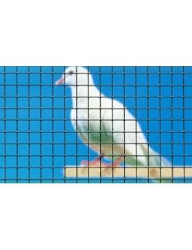 Grillage spécial volière ARAVIS plastifié VERT H 0,5 m
