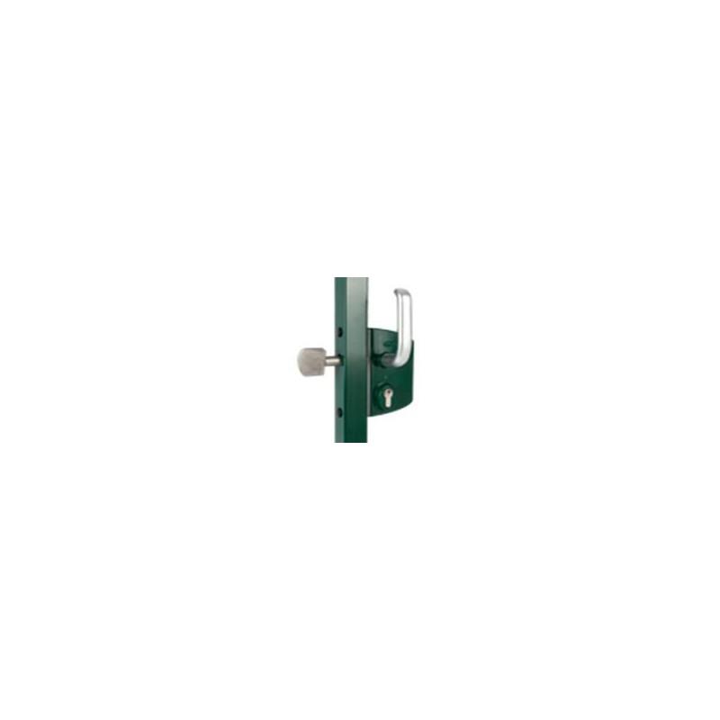 serrure LOCINOX à cylindre européen pour portillon ou portail pivotant
