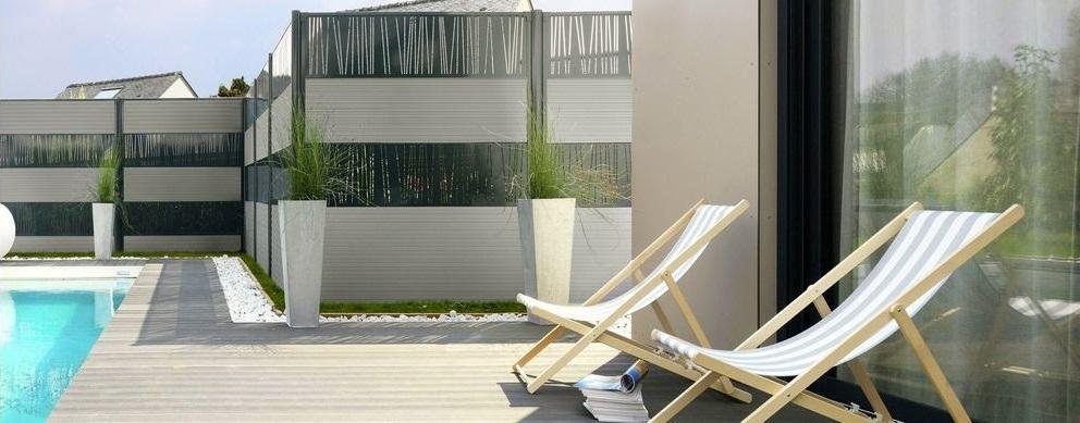 clôtures modulables et personnalisables Trendy