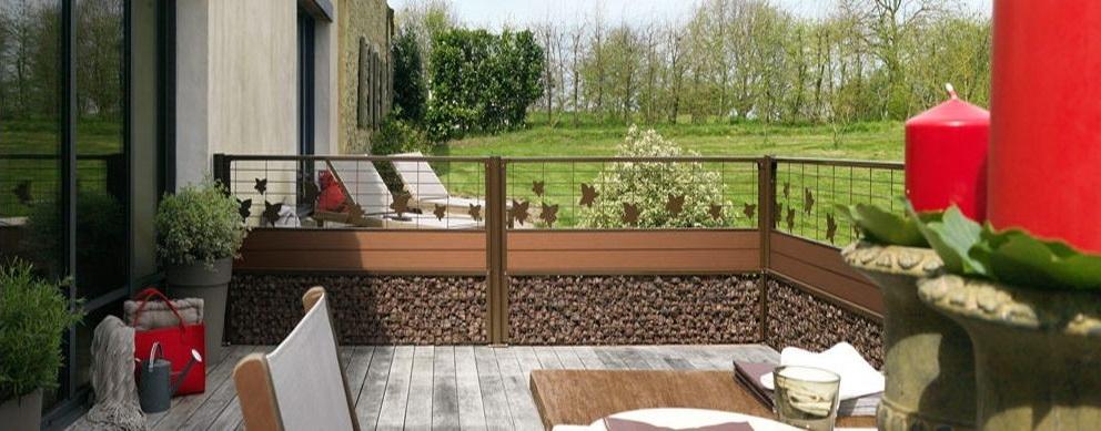 clôture déco modulable Cottage